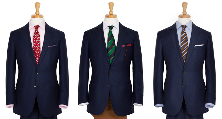 How to wear a navy suit: 5 classic looks