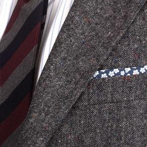 Dark Grey Donegal Tweed Suit - thumbnail image 2