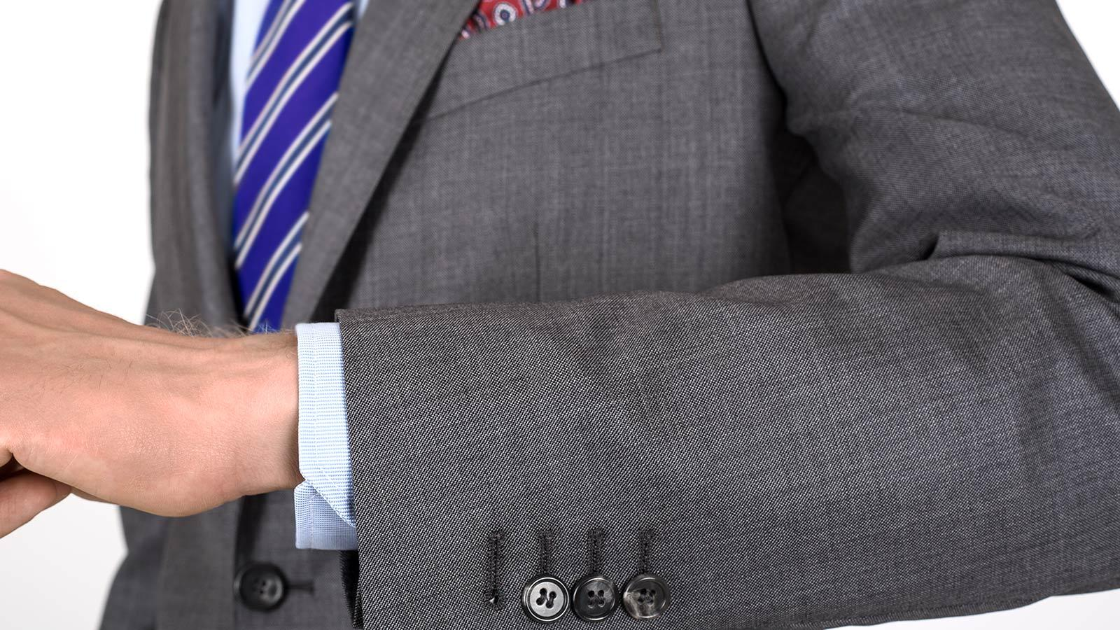 Premium Grey Pick & Pick Suit - slider image 1