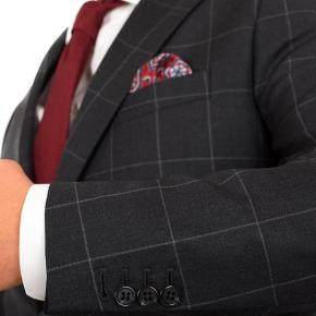 Charcoal Check Suit - thumbnail image 1