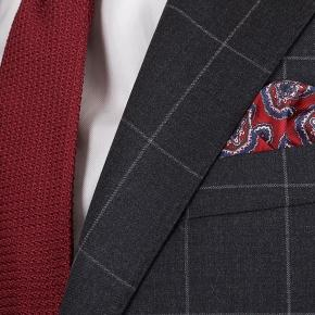 Charcoal Check Suit - thumbnail image 2