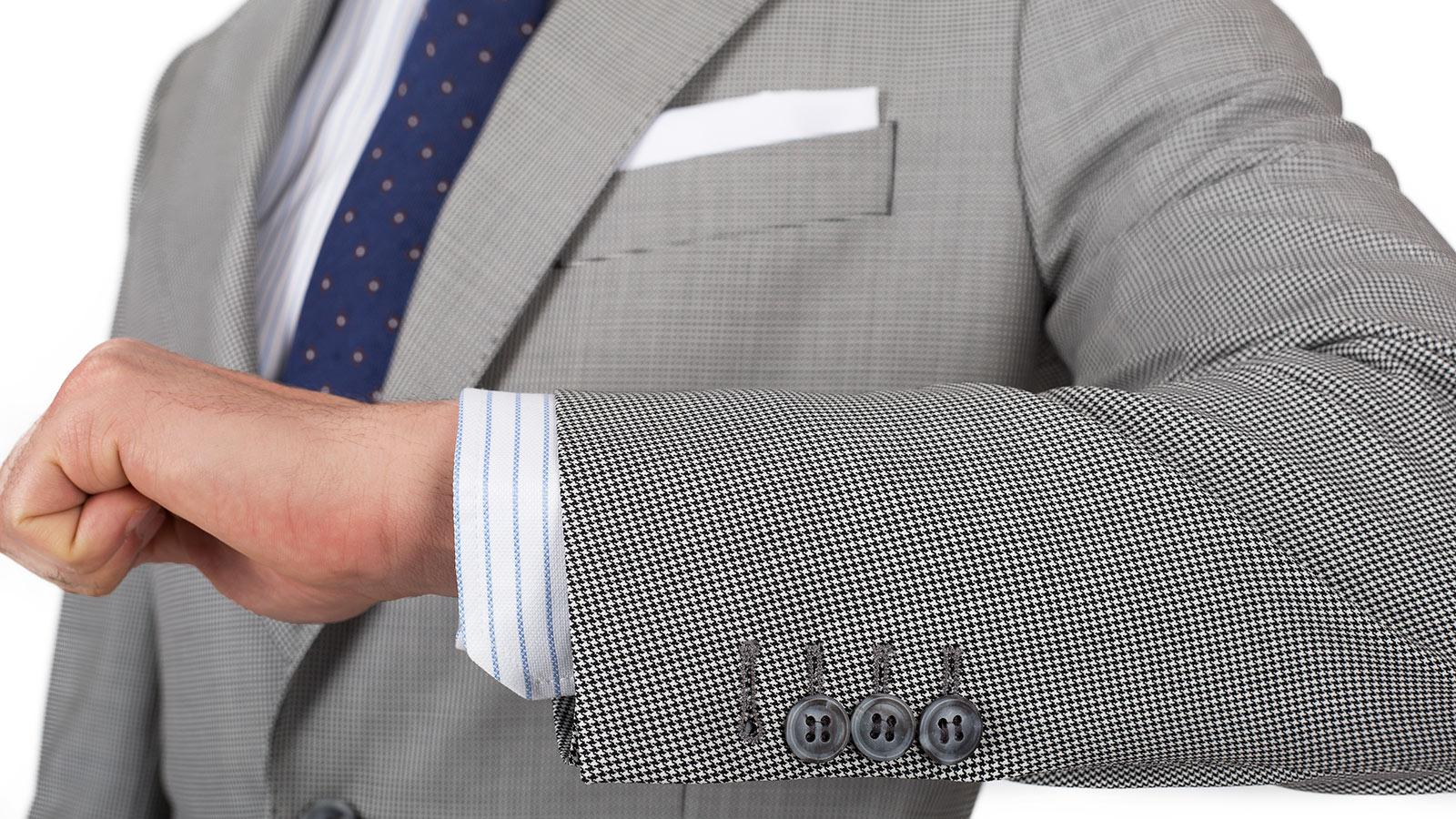 Vendetta Premium Grey Houndstooth Suit - slider image 1