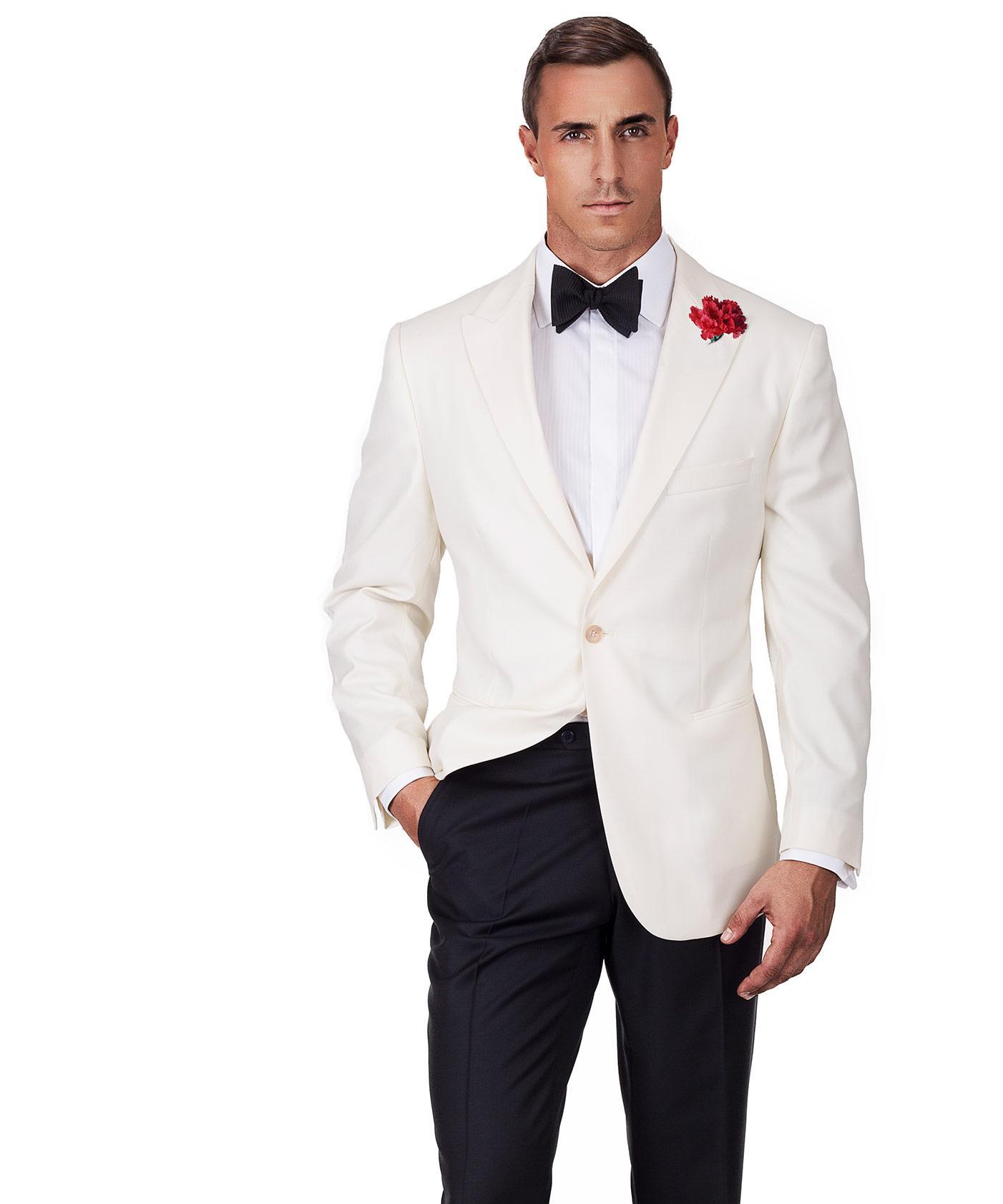 Ivory Dinner Jacket \u0026 Dress Pants