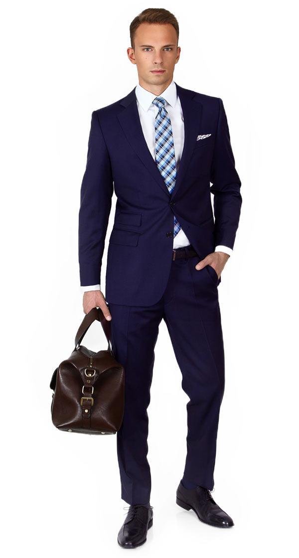 Traveler Ink Blue Suit